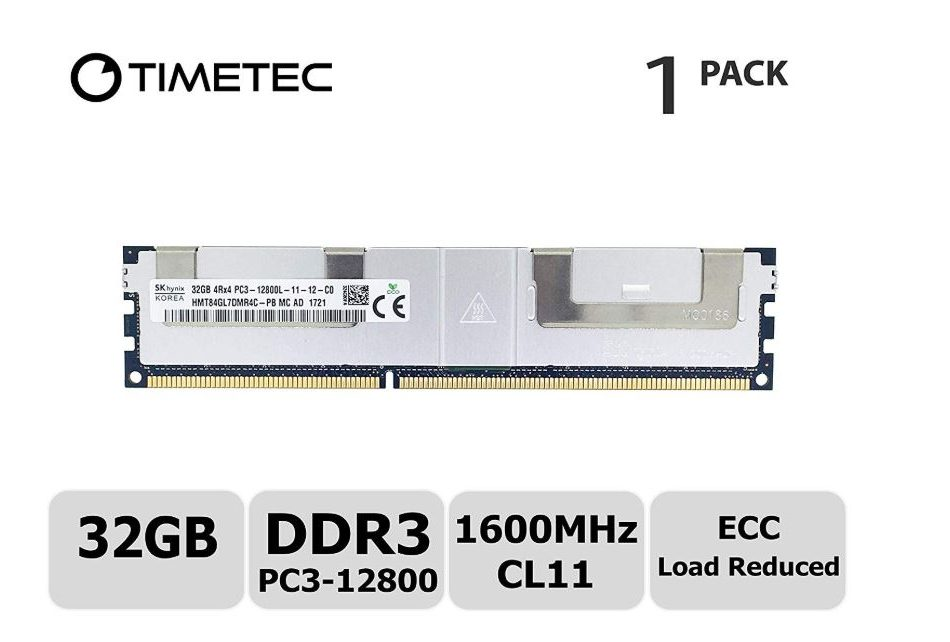 Timetec Hynix 32GB DDR3-1600 Server Memory